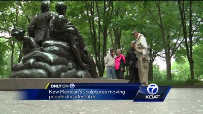 New Mexican's sculptures move people decades later