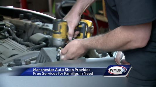 "Manchester auto shop holds ""Family Service Day"""