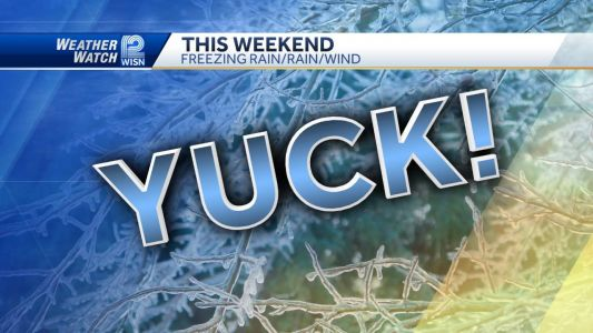 All sorts of precipitation expected this weekend
