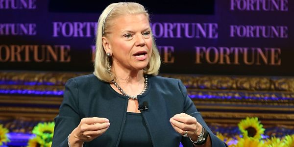 IBM grew its revenues for the first time in 23 quarters but investors are still selling off stock