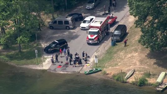 Crews rescue 1 person after vehicle becomes submerged in Liberty Reservoir