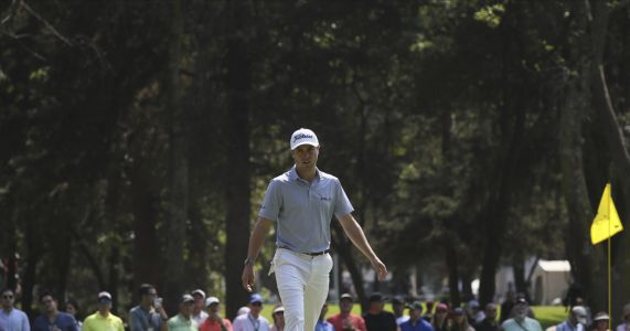 Thomas builds 1-shot lead in Mexico as Rahm makes his move
