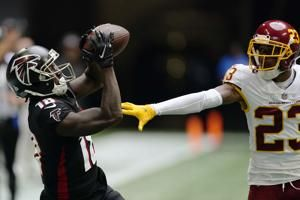 WR Ridley back with Falcons, McGary to COVID-19 reserve list