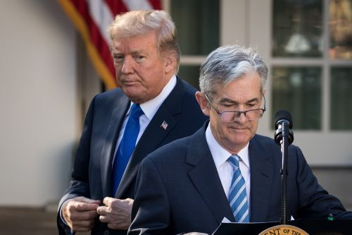 Trump Blasts Powell's Rate Hikes, Trespassing on Fed's Independence
