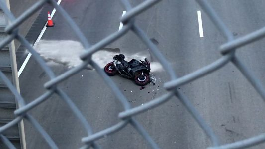 Serious injuries in Route 1 motorcycle crash