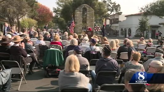 Veterans honored around the Central Coast on Veteran's Day