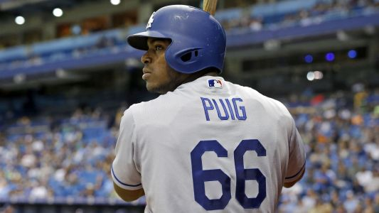 Yasiel Puig suspended 2 games, Nick Hundley fined for starting Dodgers-Giants brawl
