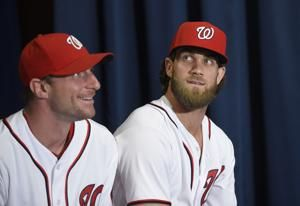 The Latest: Harper wins Home Run Derby at Nationals Park