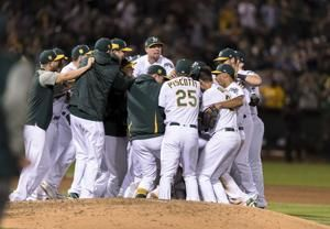 A's lefty Manaea pitches no-hitter vs streaking Red Sox