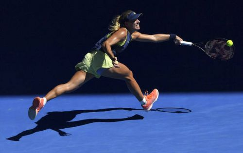 The Latest: Angelique Kerber wins 11th match in a row
