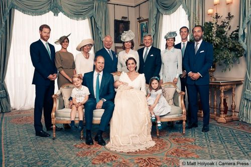 Prince Louis' official christening photos have been released -and the young royals steal the show yet again