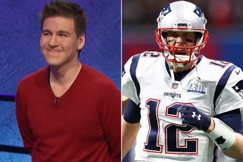 'Jeopardy!' champ James Holzhauer saves Tom Brady from eating a strawberry