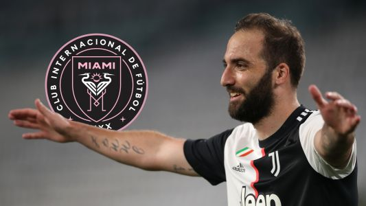 Inter Miami confirm signing of Higuain on free transfer after Juventus departure