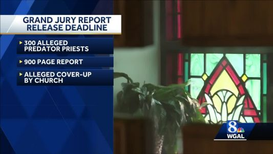 Deadline day for release of report into child sex abuse at Catholic churches