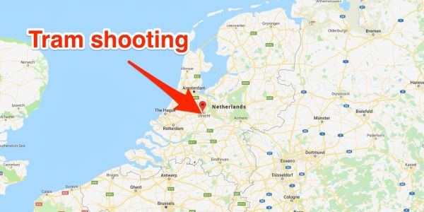 Multiple people are injured in shooting on a tram in the Netherlands, and anti-terror police are investigating