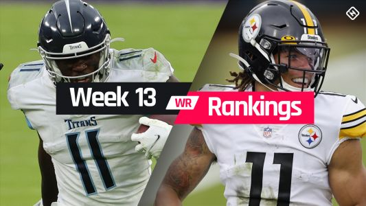 Week 13 Fantasy WR Rankings: Must-starts, sleepers, potential busts at wide receiver
