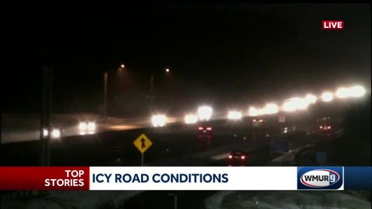 Light snow, mix leads to icy roads for some