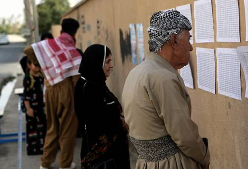 The Latest: US 'deeply disappointed' by Iraqi Kurds vote
