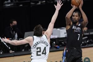 Durant's sensational performance sends Nets to 3-2 lead