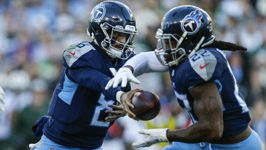 Titans' Derrick Henry ties NFL record with 99-yard touchdown run