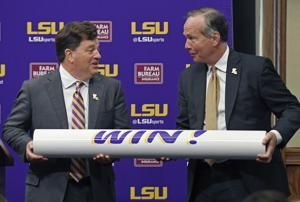 New LSU AD Woodward initially supportive of embattled Wade