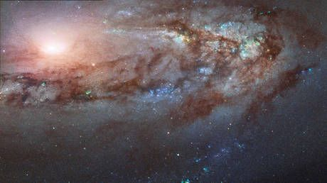 This strange galaxy is defying the universe to travel towards the Milky Way