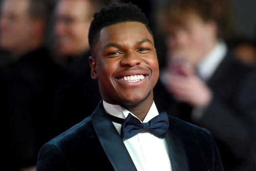 John Boyega and 'Star Wars' cast celebrate at wrap party