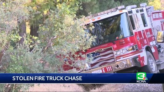 New details emerge after arrests in Sac Metro fire truck chase
