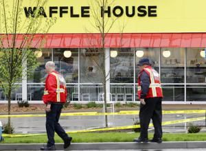 Manhunt on for suspect in Waffle House murders