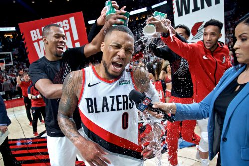 Damian Lillard's 50 points and buzzer-beater lead Trail Blazers to series win