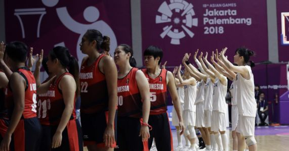 Through hoops: Combined Koreas set tone for Asian Games