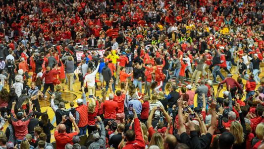 West Virginia punch proves it's past time to make court-storming civilized