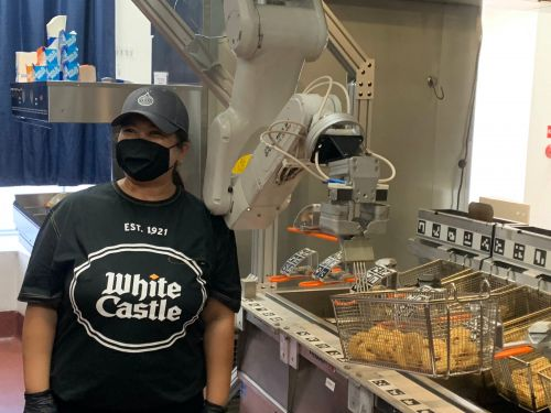 Meet Flippy, White Castle's new robot chef that can fry food and flip burgers