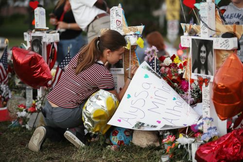 After woman's friend dies in Parkland shooting, police officers cover her flight to Florida