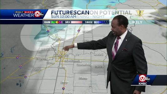 Showers, thunderstorms ahead Saturday