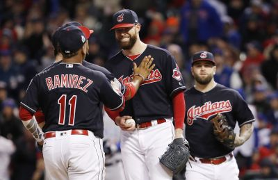 Cleveland Indians beat Chicago Cubs 6-0 in World Series opener