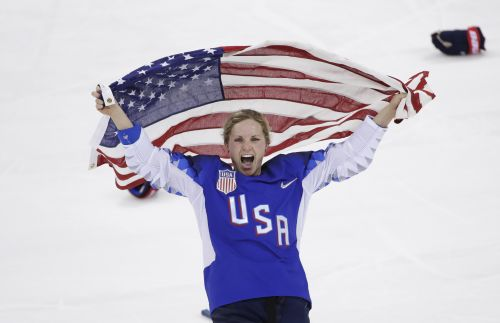 CELEBRATE! US Women beat Canada, win gold in shootout