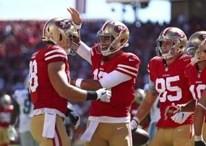 Garoppolo looks for consistency going into matchup at Chiefs