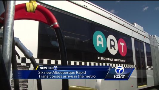 New ART buses arrive, no start day in sight