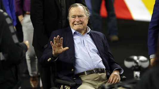 Former President George H.W. Bush hospitalized in intensive care unit