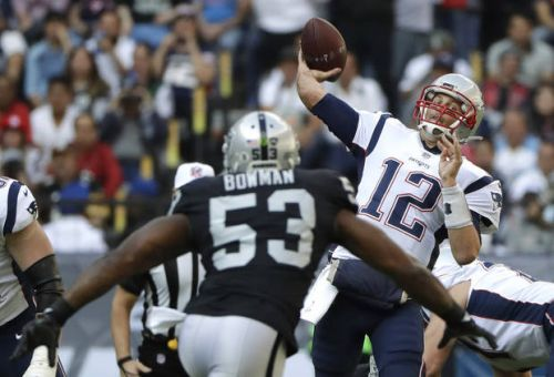 Patriots cap off trip with 33-8 win over Raiders in Mexico