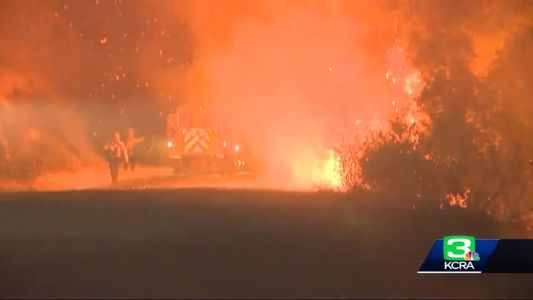LIVE: Cal OES update on massive wildfires in state