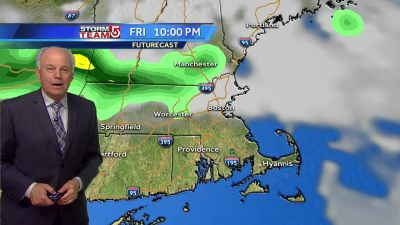 Video: Few storms, very humid