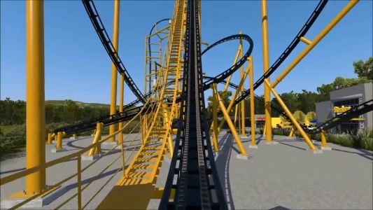 STEEL CURTAIN: Watch a video simulation of the new Pittsburgh Steelers-themed roller coaster coming to Kennywood Park
