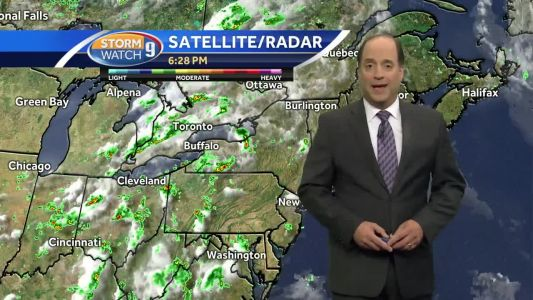 Update: Storms possible Tuesday