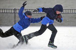 NHL game, horse racing called off because of winter storm