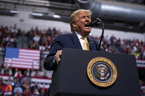 Trump mocks Bloomberg, Klobuchar debate performances at Colorado rally