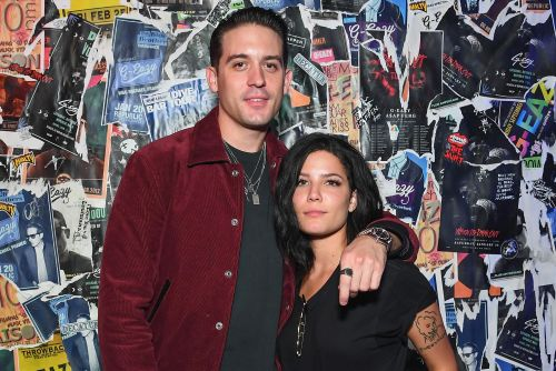 Halsey and G-Easy mix business with pleasure at LA nightclub