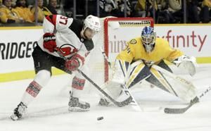 Johansen gets shootout winner, Predators beat Devils 2-1