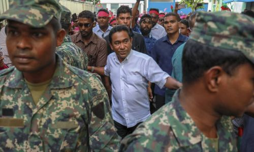 Maldives president seeks extension to state of emergency